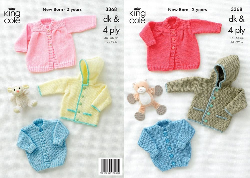 3368 Knitting Pattern - DK & 4 Ply  14