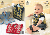3248 Knitting Pattern - Double Knit Babies - Childrens*