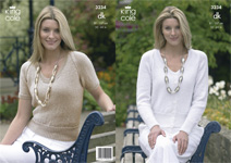 3234 Knitting Pattern - Ladie's Double Knit*