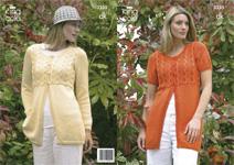 3235 Knitting Pattern - DK Ladie's*