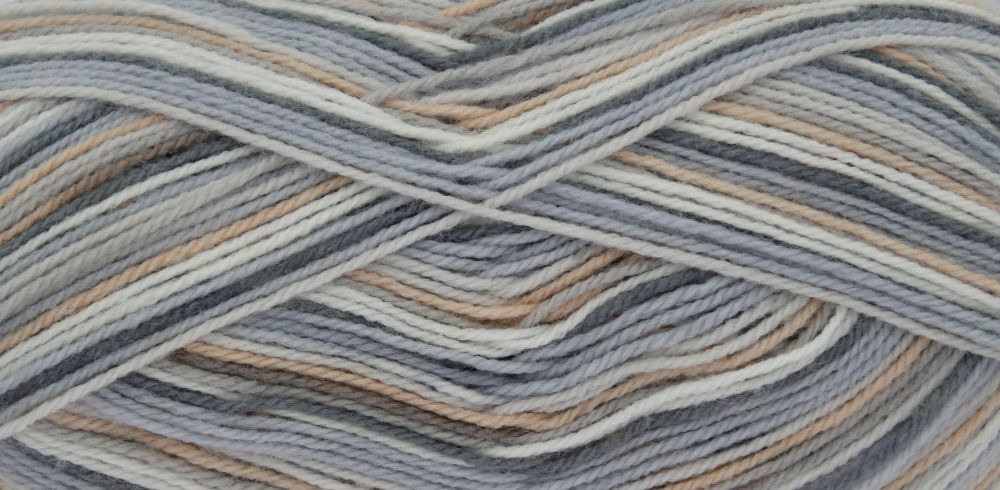 Big Value Baby 4 Ply Print - Mineral 2574 NEW