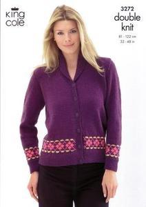 3272 Knitting Pattern - Double Knit 32