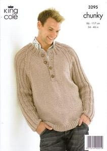 3295 Knitting Pattern - Chunky