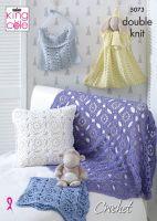 5073 Crochet Pattern - Double Knit