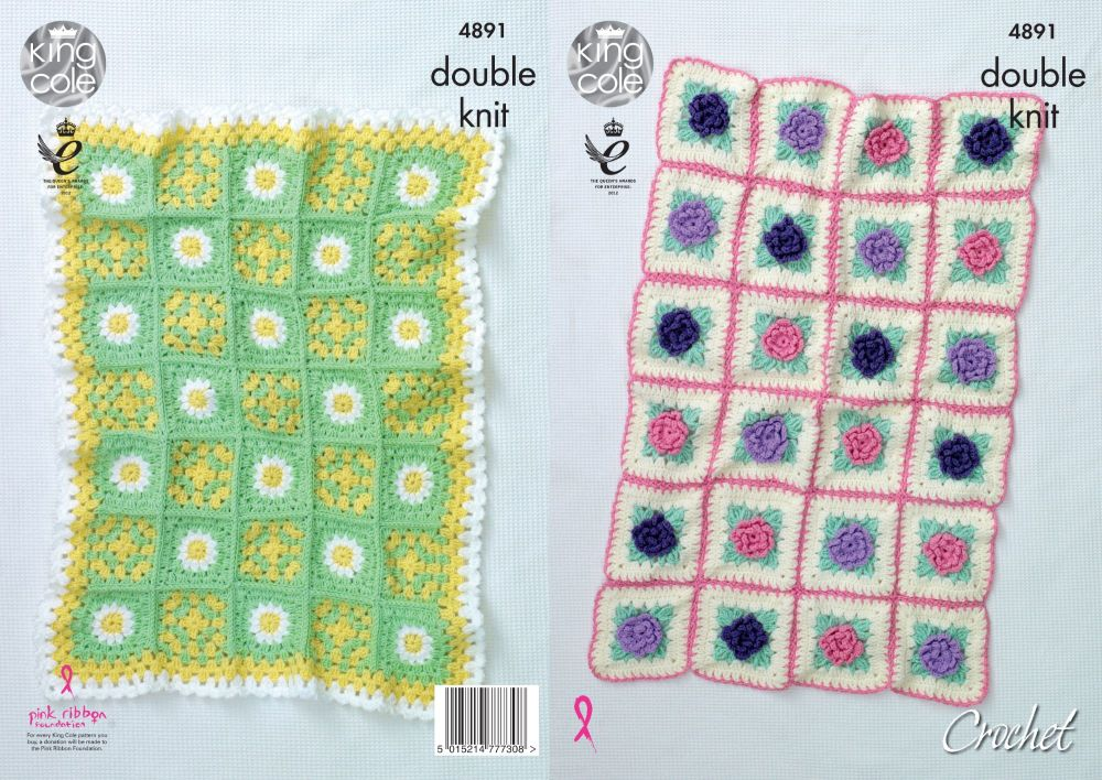 4891 Crochet Pattern - Blanket