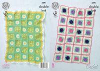 4891 Crochet Pattern - Blanket