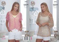 4495 Crochet Pattern - Ladies Opium