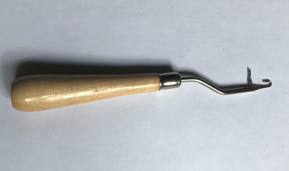 Hook for Rug Making