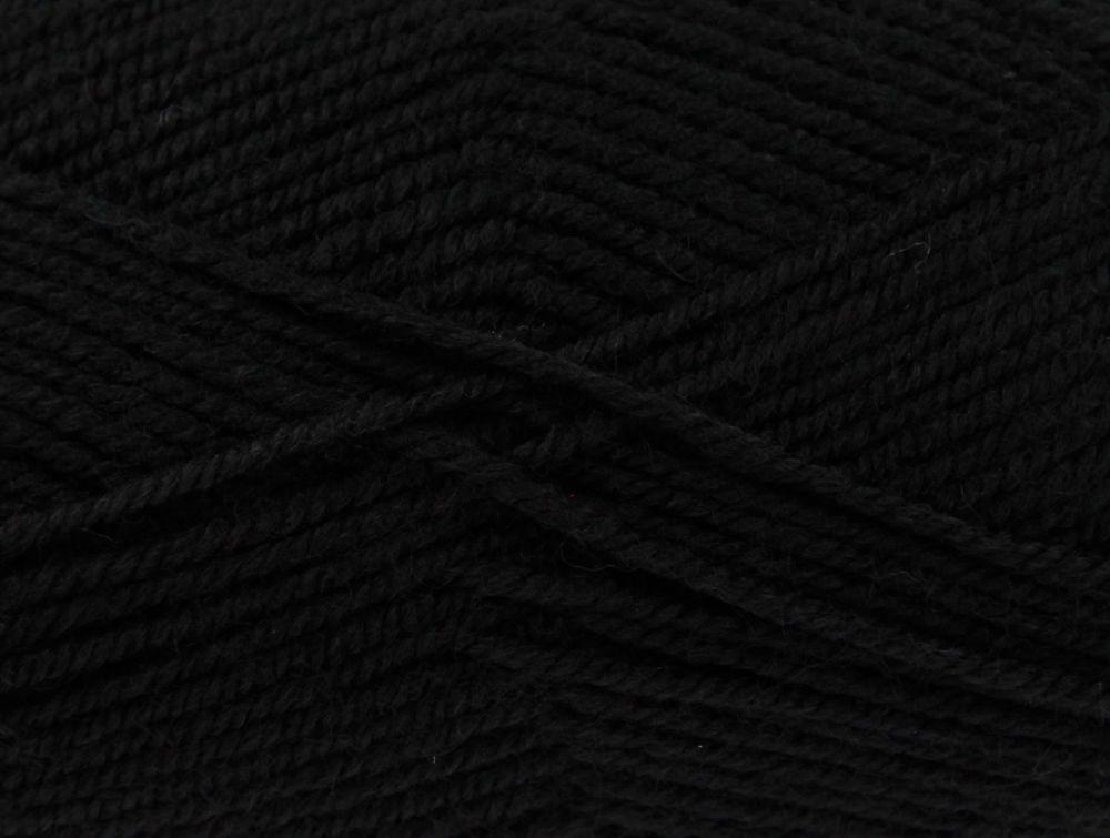 King Cole Fashion Aran - Black 3318