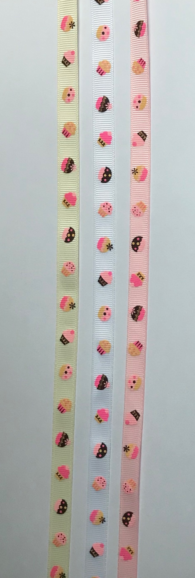 9mm Cup Cake Grosgrain Ribbon GGCUP2