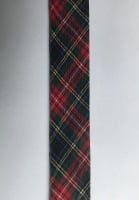 25mm Wide Bias Binding - Tartan 3393