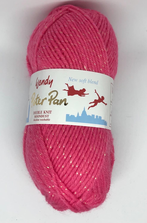 Wendy Peter Pan DK Moondust - 50g Balls Pink 3011
