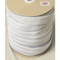 24mm Wide White Elastic
