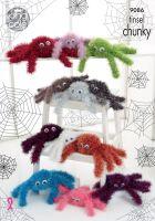 9086 Knitting Pattern - Tinsel Spider
