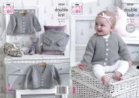 """5334 Knitting Pattern DK - Babies 14 - 22"""""""