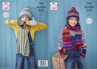 5646 Knitting Pattern - Children's Accessories DK