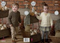 4561 Knitting Pattern - Children's Aran
