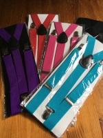 Trouser Braces - Plain Colours