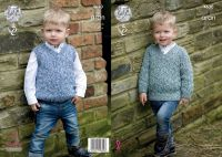 4630 Knitting Pattern - Children's Aran 20 - 28