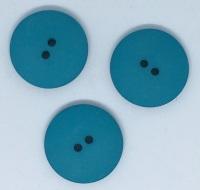 Plain Hot Turquoise Button Size 48 - P129/1110