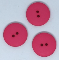 Plain Hot Pink Large Button Size 48 - P129/HPink