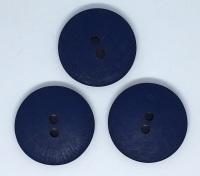 Plain Navy Large Button Size 48 - P129/423