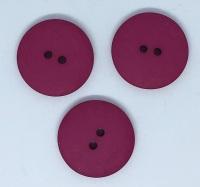 Plain Cerise Large Button Size 48 - P129/425