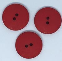 Plain Red Large Button Size 48 - P129/403