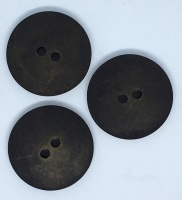 Plain Black Large Button Size 48 - P129/402