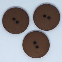 Plain Brown Large Button Size 48 - P129/424