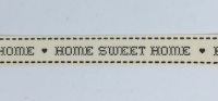 15mm Wide Home Sweet Home Ribbon