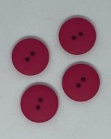 Plain Hot Pink Button - P129HPINK