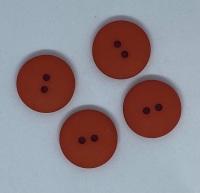 Plain Rust Button - P129/419