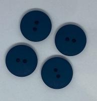 Plain Navy Button - P129/437
