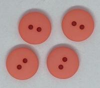 Plain Coral Button - P129/626