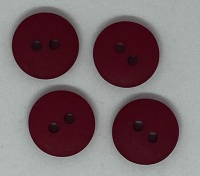 Plain Maroon Button - P129/412