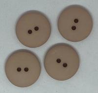 Plain Beige Button - P129/602