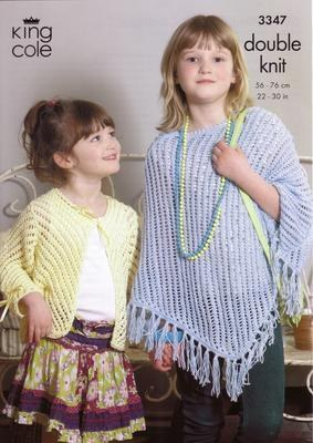 3347 Knitting Pattern - Double Knit 22
