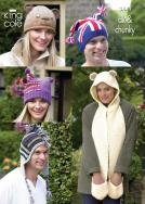 3441 DK & Chunky - Adult Hats & Scarf