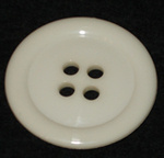 50mm Button Large Ivory
