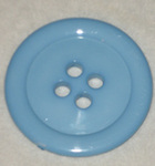50mm Button Large Pale Blue