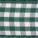 Small Check Ribbon - Green 54102-410