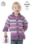3101 DK - Children's Knitting Pattern*
