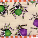 Halloween Spider Ribbon - 60mm Wide