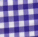 Royal Blue & White Check Ribbon ( Large Check) 1141