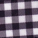 Black & White Check Ribbon (Large Check) 1141