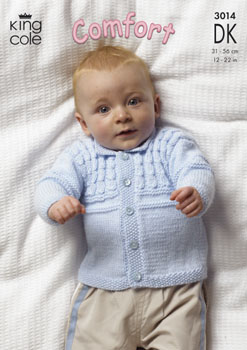 3014 COMFORT DK - Knitting Pattern Babies