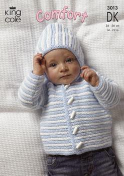 3013 COMFORT DK - Knitting Pattern Babies