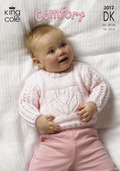 3012 COMFORT DK - Knitting Pattern Babies