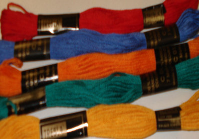 Embroidery Threads Brights PK5